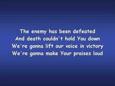 Shout Unto God (Worship Video w/ Lyrics)