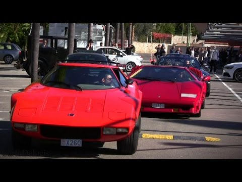 Awesome Cars&Coffee Monaco: P1, 2x SLR, 458Speciale