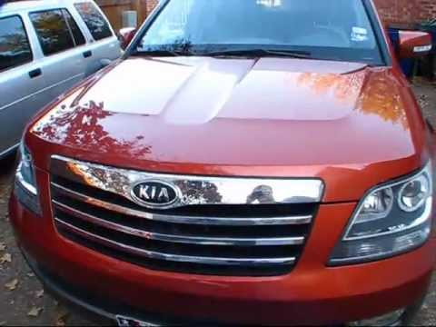 2009 Kia Borrego Ex V6 Start Up Exterior Interior Review