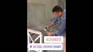 Granit ve Çimstone Tezgah Nasıl Yapılır