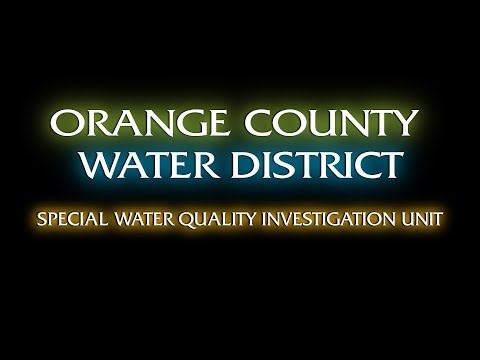 OCWD - Special Water Quality Investigation Unit