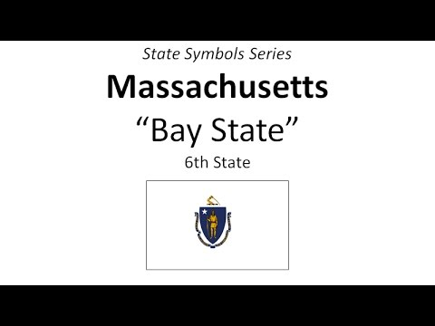 State Symbols Series - Massachusetts