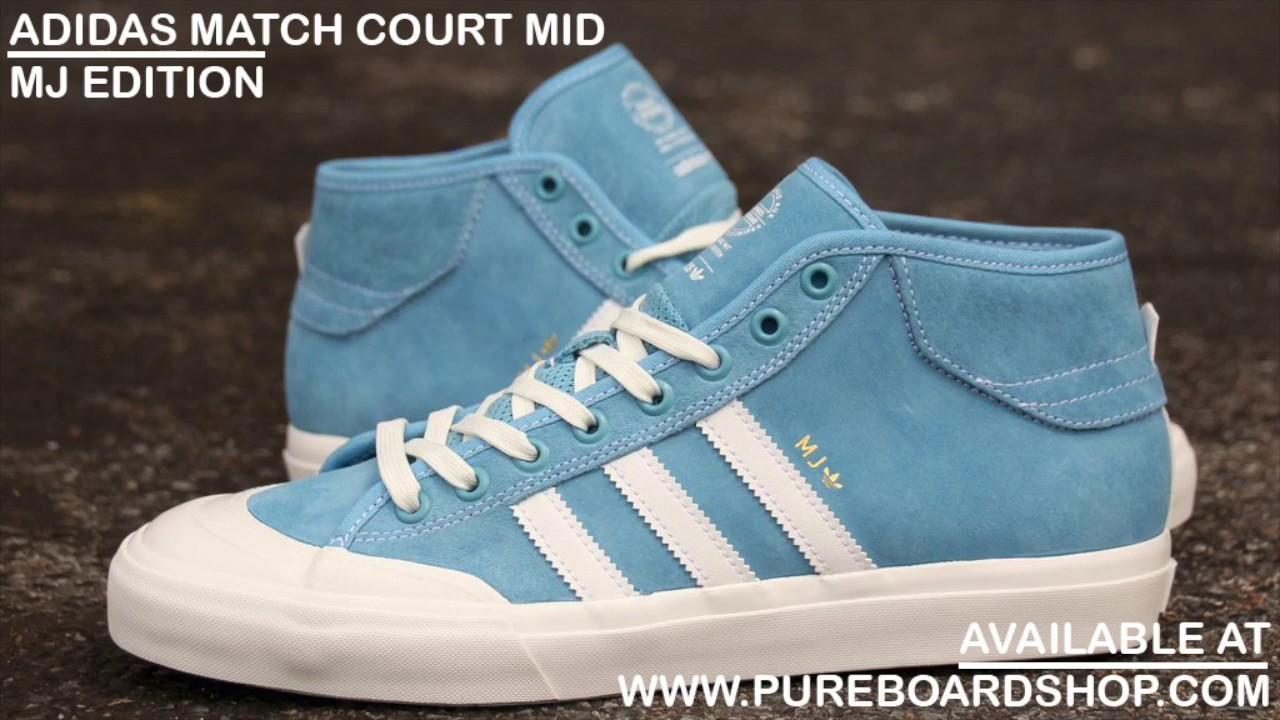 wholesale dealer e5664 33140 Adidas Matchcourt Mid Marc Johnson Review