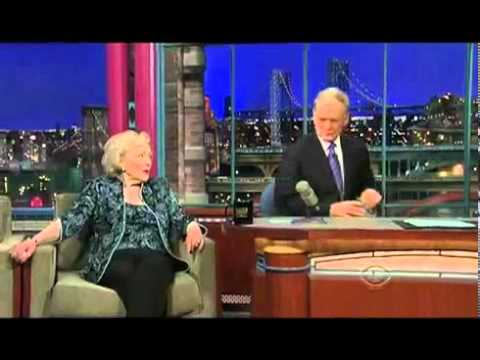 Betty White Drinks Vodka With David Letterman Video