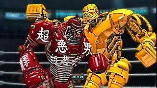 REAL STEEL THE VIDEO GAME- DEADLY GRIP OF ZEUS vs (MIDAS & NOISY BOY, TWIN CITIES) ЖИВАЯ СТАЛЬ
