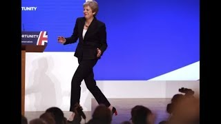 Dancing Queen: Theresa May steps out again