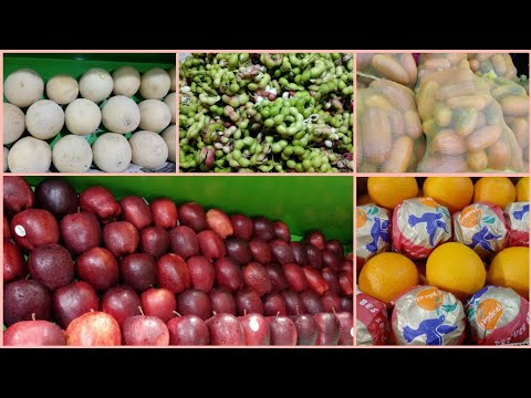 Wholesale And Retail Fruits Market In Coimbatore  Tamil New Year Special 
