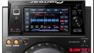 Pioneer XDJ-1000 USB only Rekordbox player with DJkit.tv