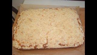 Пирог с яблоками на закваске