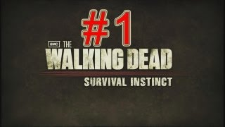 The Walking Dead Survival Instinct walkthrough part 1 let's play gameplay no commentary story mode