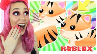 NEW TIGER PET IN ADOPT ME ROBLOX! New Tiger Pet Coming To Adopt Me In New Update??