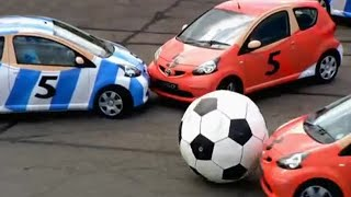 Aygo five-a-side football | Top Gear
