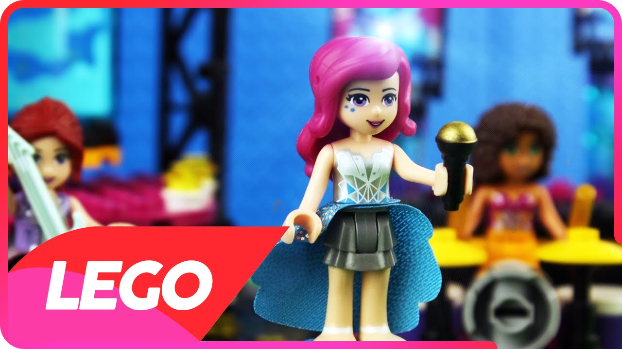 Livi Love Is A Fooling Game Lego Friends Heartlake City Music