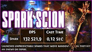 3.0/3.1 Path Of Exile - Max projectile speed cast speed sparker Scion