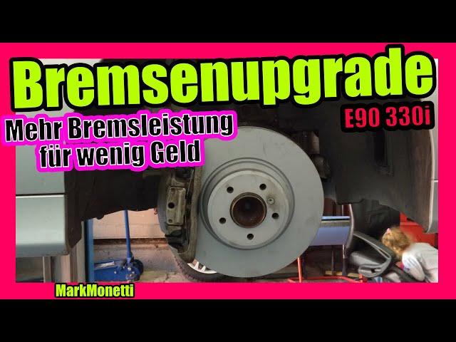 Bessere Bremse E90 | Bremssattelhülsen? Stahlflex? | MarkMonetti
