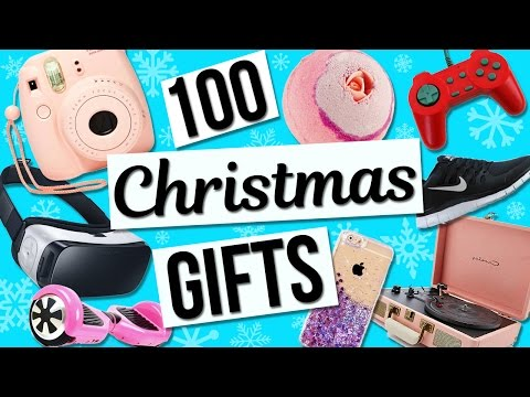 100 Christmas Gift Ideas! Holiday Gift Guide For Girls!