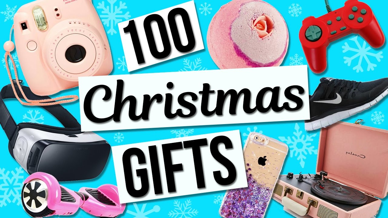 100 Christmas Gift Ideas! Holiday Gift Guide For Girls! - YouTube
