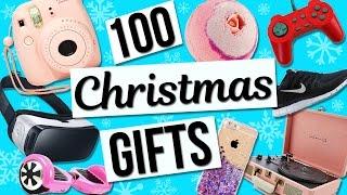 100 Christmas Gift Ideas! Holiday Gift Guide For Girls! | tashalala