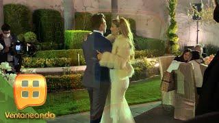 ¡Sólo nosotros tenemos las imágenes de la boda de Ninel Conde y Larry Ramos! | Ventaneando
