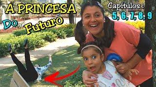 LUNA A PRINCESA QUE VEIO DO FUTURO - CAPÍTULOS 5, 6, 7, 8, 9
