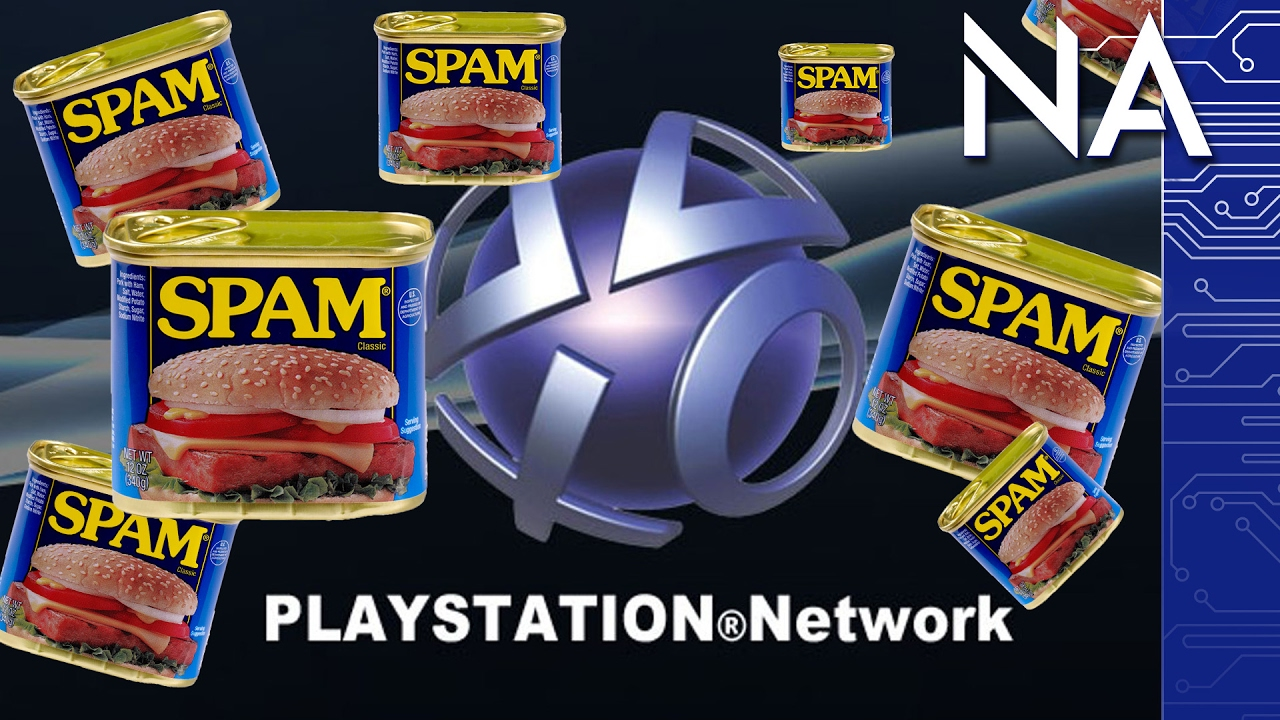 Spam PSN Says It's Not For Gaming Harassment    Right