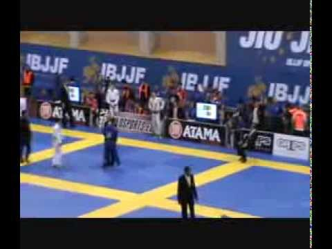 European BJJ Open 2014 Caio Terra vs Koji Shibamoto