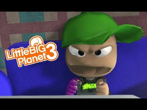 LittleBIGPlanet 3 - I SWEAR! - Censored Version [Funny Movie] - Playstation 4