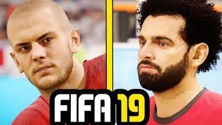 FIFA 19 New Face Concept (Salah, Griezmann, Wilshere & More)