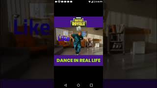 Fornite Dance in Real Life/Fortnite baile en la vida real