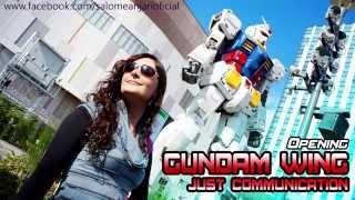 """Salomé anjarí """"just communication"""" – gundam wing opening cover (japonés) tÚ ayuda es importante, puedes apoyarme asÍ: suscrÍbete, comparte y/o comenta! grac..."""