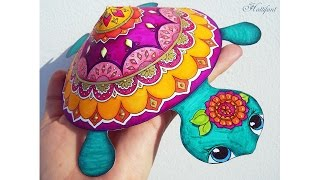 Hattifant - Mandala Turtle Papercraft - Tutorial