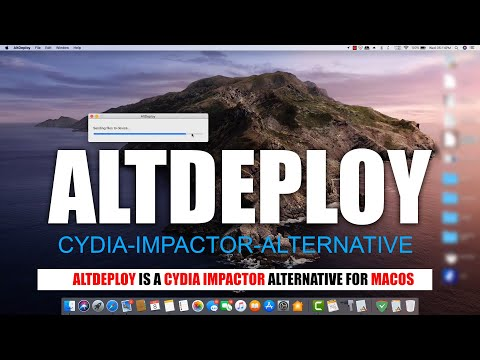 Sign IPA files and side-load apps on Mac OS using AltDeploy