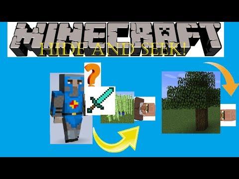 Minecraft Villagers Hide And Seek 7 Birthday Skin Pack And Skin