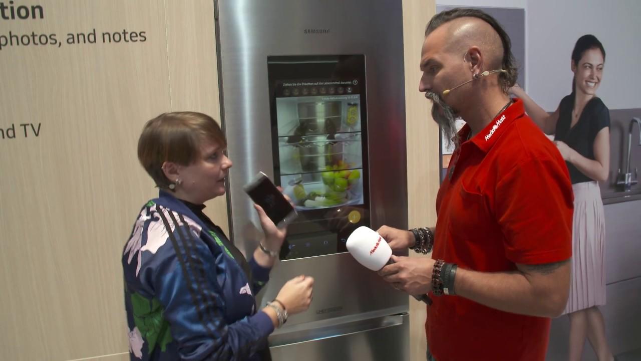 Amerikanischer Kühlschrank Saturn : Der schlauste kühlschrank der welt highlight samsung