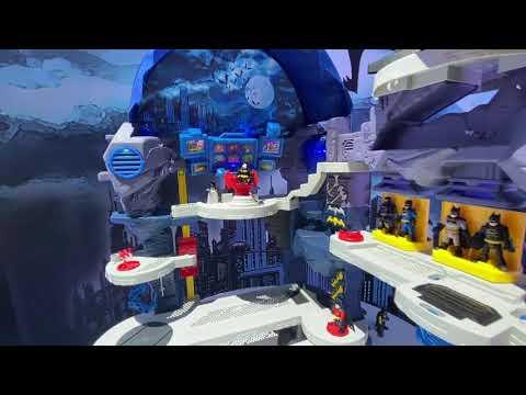 FIRST LOOK Imaginext DC Superfriends Super Surround Batcave