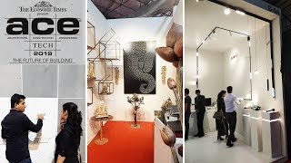 Acetech Mumbai 2019 , Review, Exhibition, Latest Materials,home Decor Trends & Technology
