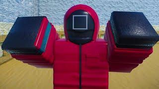 Игра в КАЛЬМАРА с Кидом #2 Красный свет - Зеленый свет в Роблокс. SQUID GAME RED LIGHT GREEN LIGHT