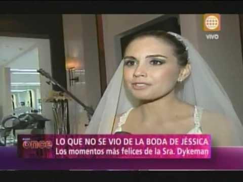 A las Once -Lo que no se vio de la boda de Jessica Tapia- 03/06/13