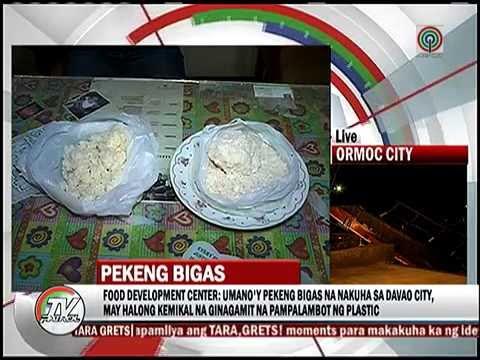 'Pekeng bigas' may halong pampalambot ng plastic thumbnail