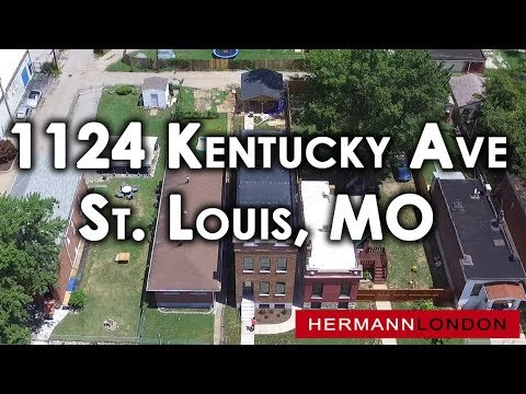 Drone-1124 Kentucky Ave St. Louis, MO-Hermann London Realtors