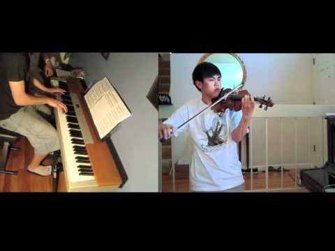 Schubert  Ave Maria  Piano and Violin Duet Josh Chiu on violin
