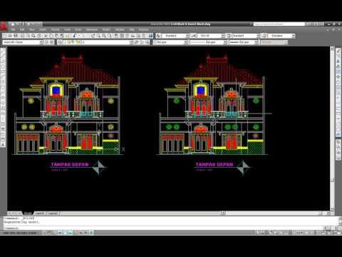 tutorial-autocad-membuat-block-&-insert-block
