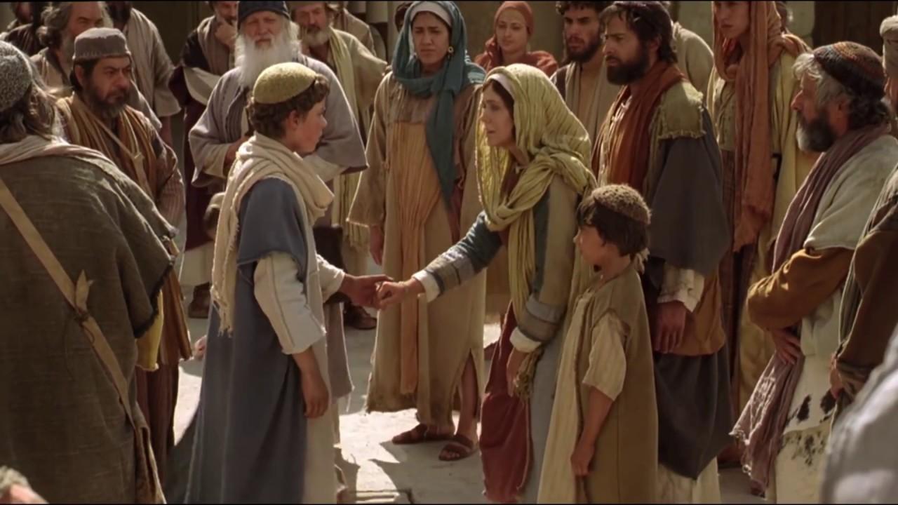 Resultado de imagen de JESÚS EN NAZARET. LUCAS CAP. 2