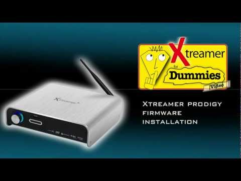 Xtreamer Prodigy Firmware Installation