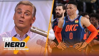 Russ is too rigid to change style, AD not taking games off is a 'sigh of relief' | NBA | THE HERD