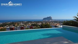 Вилла в районе Gran Sol города Calpe, с видом на море и Peñon Ifach. Недвижимость в Испании