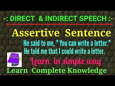 speech sentences examples