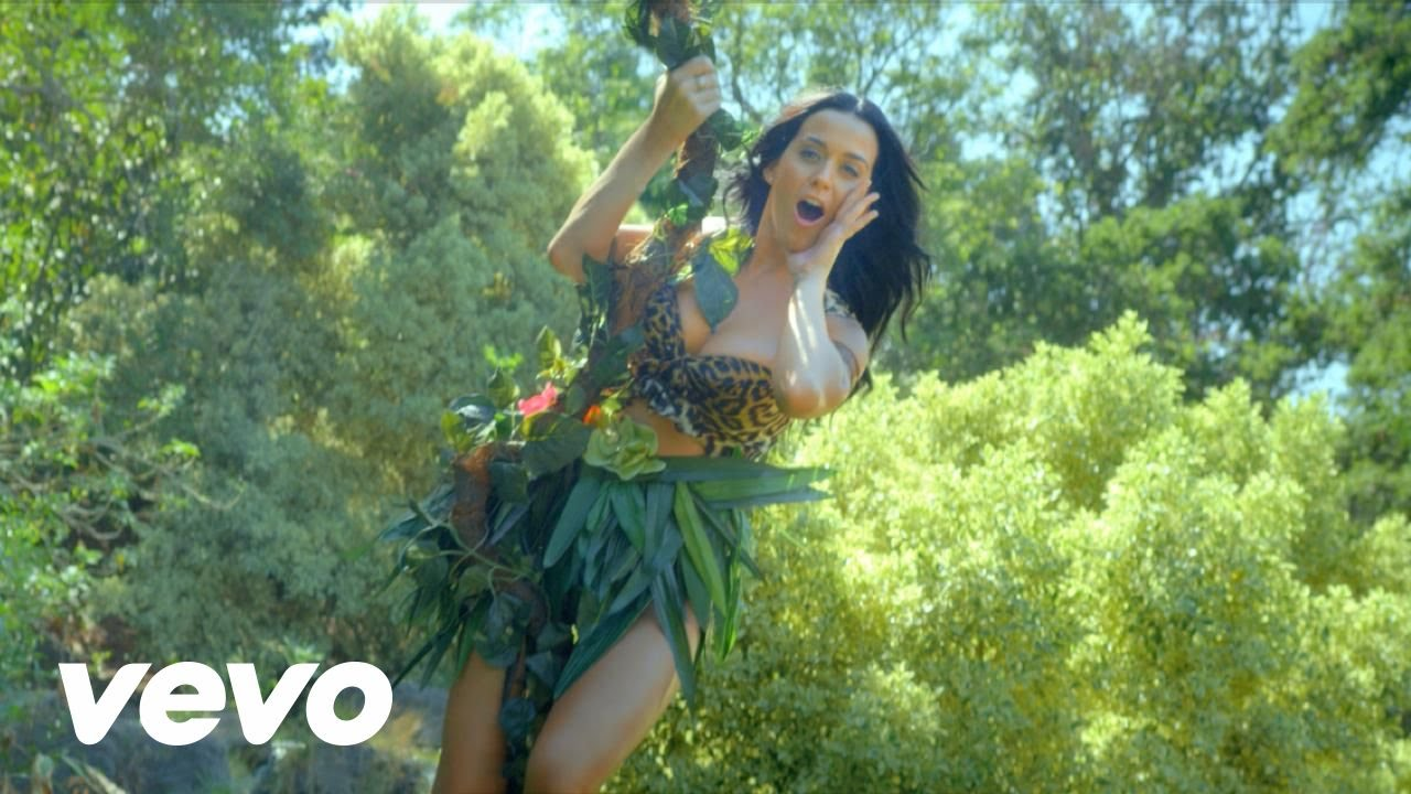 Katy Perry - Roar Queen Of The Jungle Music Video -5127