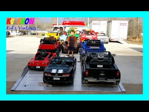 Thumbnail: HUGE POWER WHEELS COLLECTIONS PART 2! Kid Loading All Of His Power Wheels Ride On Cars For Kids