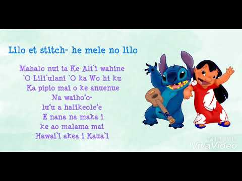 Lilo Et Stitch He Mele No Lilo Lyrics Youtube